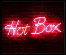 Hot Box Neon Sign